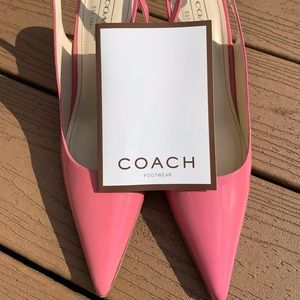 COACH ALENA PINK PATENT LEATHER PUMPS- NEW IN BOX!